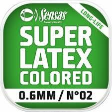 Sensas Amortyzator Latex Color 0,6mm
