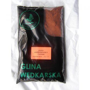 Gienek- Glina Rozpraszająca Czerwona 2 kg