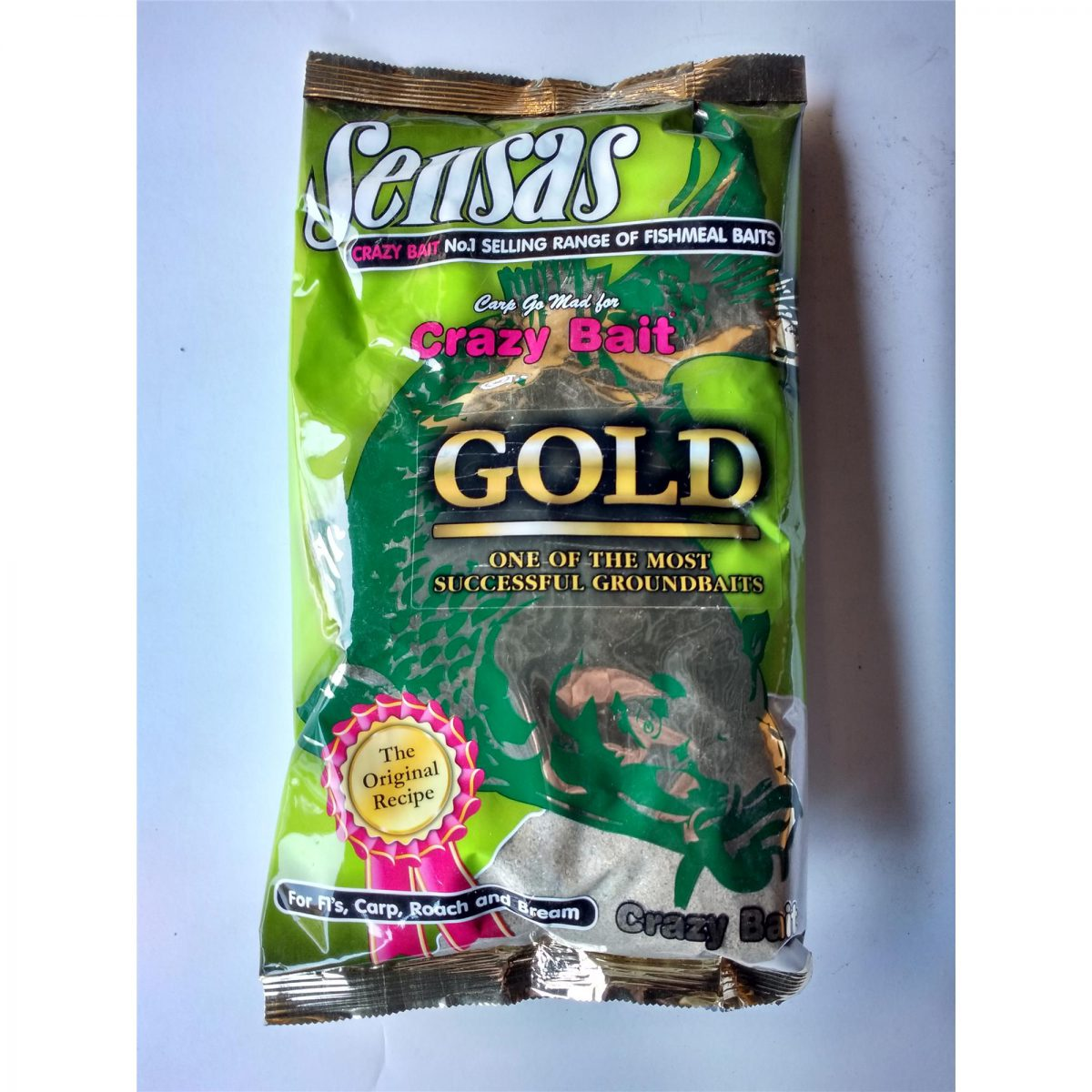 Sensas Zanęta Crazy Bait Gold 1kg