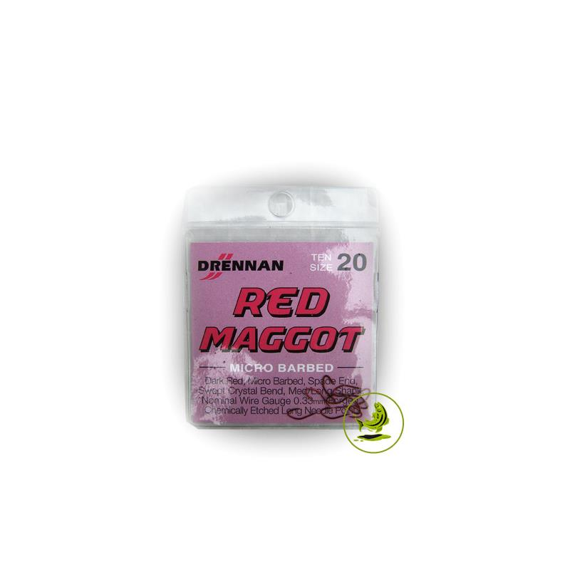 Drennan Haki Red Maggot 20