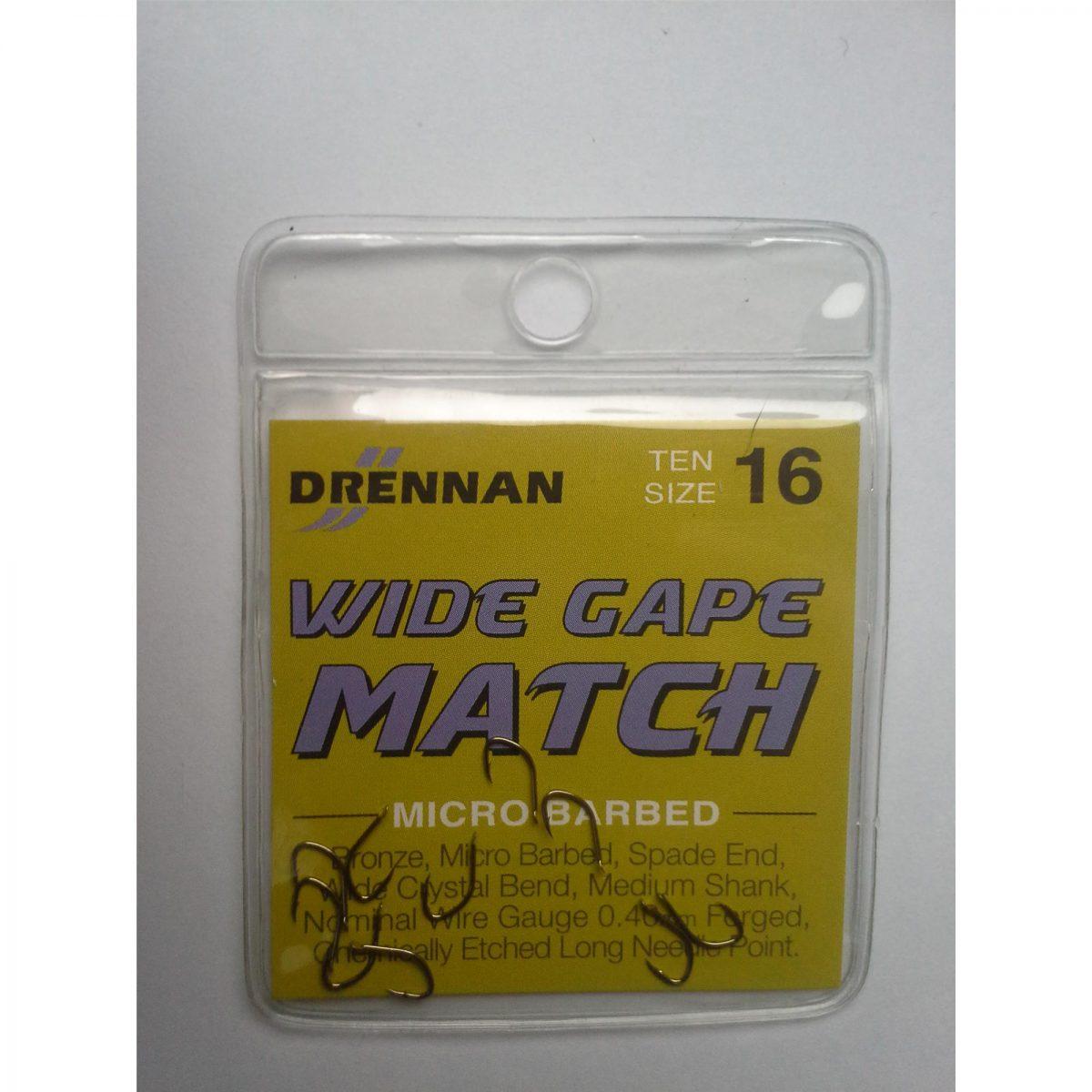 Drennan Haki Wide Gape Match 16