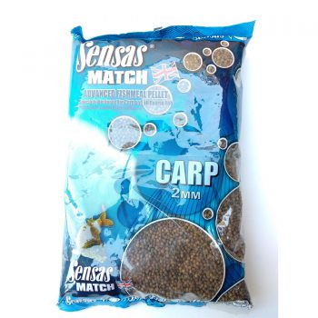 Sensas Pellets Carp 2mm 750g