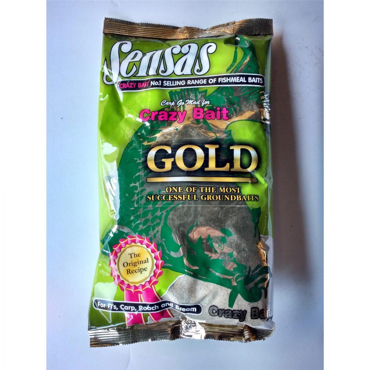 Sensas Zanęta Crazy Bait Gold 1kg