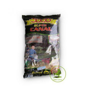 Sensas Zanęta 3000 Fine Moture Canal Noire 1kg
